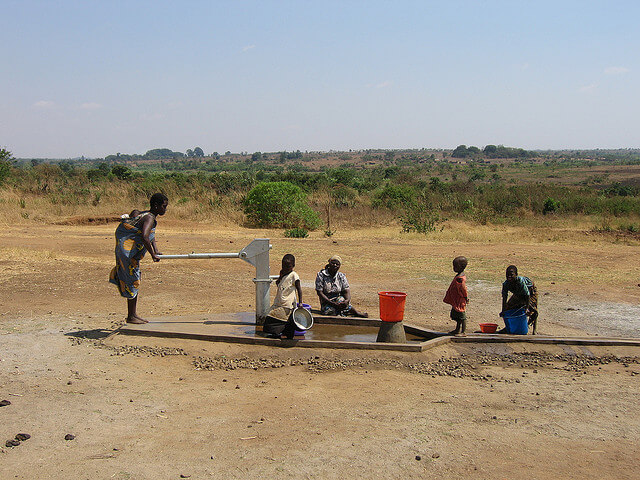 Water Droughts & Extortionate Prices – Drill a borehole!
