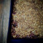 Vegan Rhubarb Crumble Baking