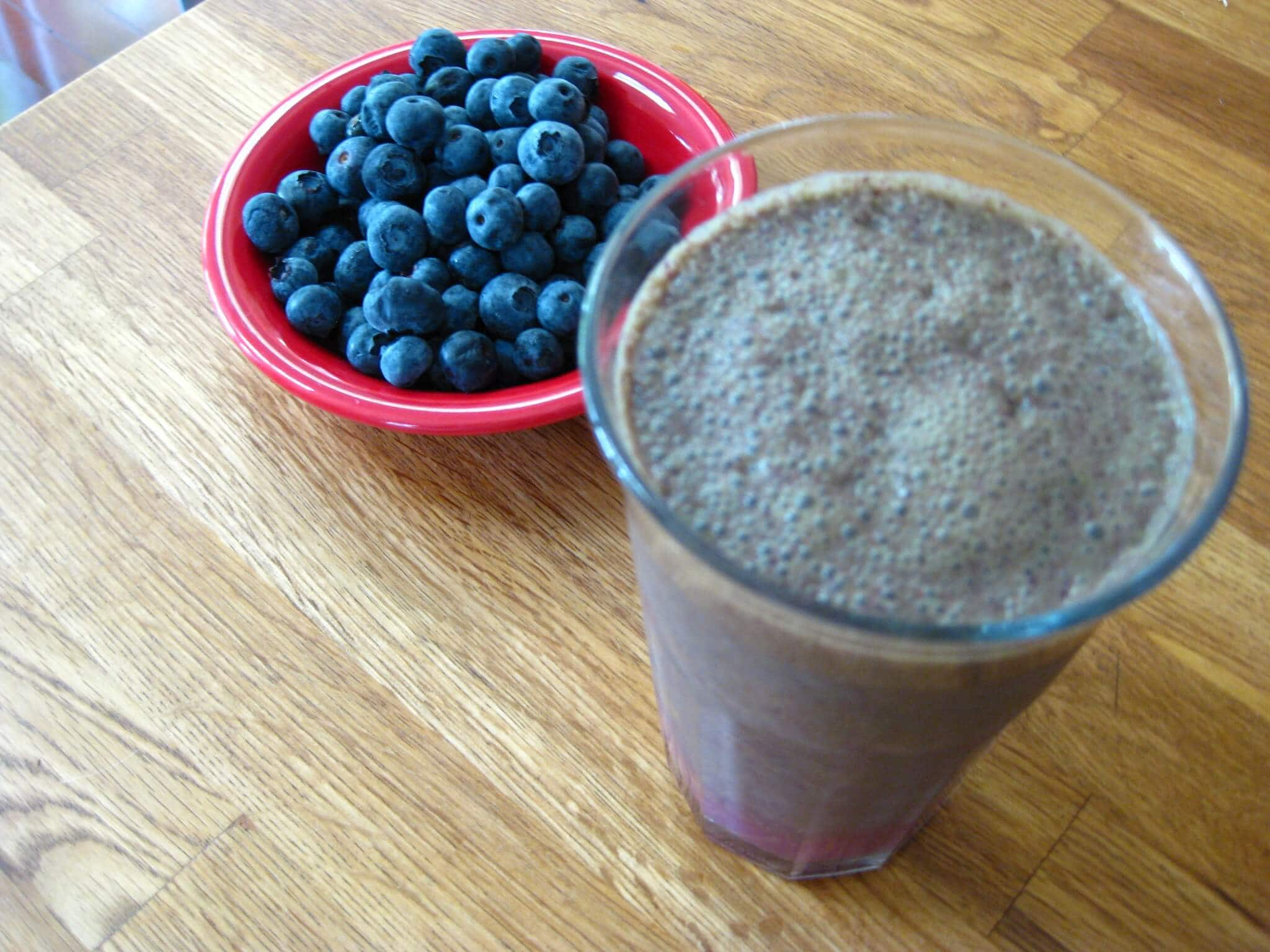 Blueberry Pie Smoothie Recipe