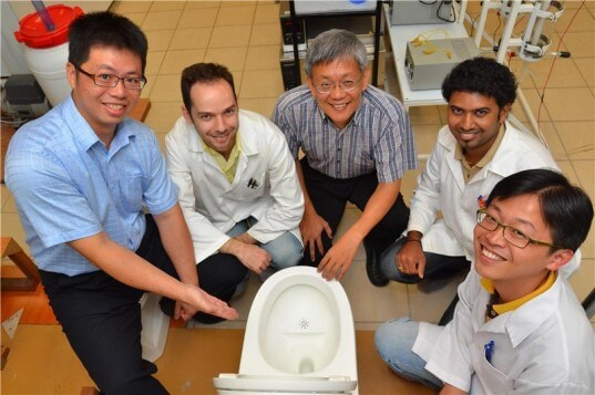 Innovative Toilet Reduces Water And Reuses Waste