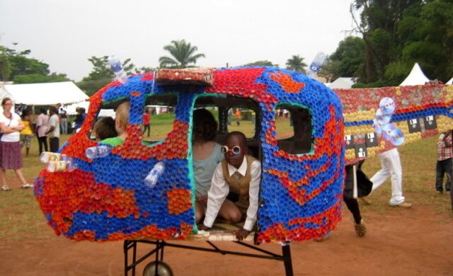 Eco-Artist To Make Amusement Park With Recycled Bottles