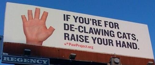 Stop landlords from requiring declawing or debarking