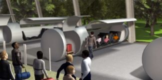 Evacuated Tube Transport