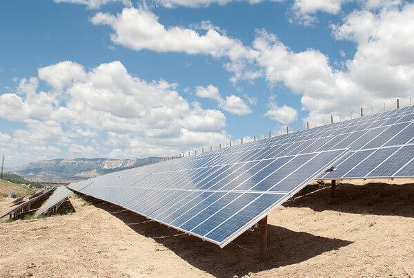 Garfield County solar garden in Colorado