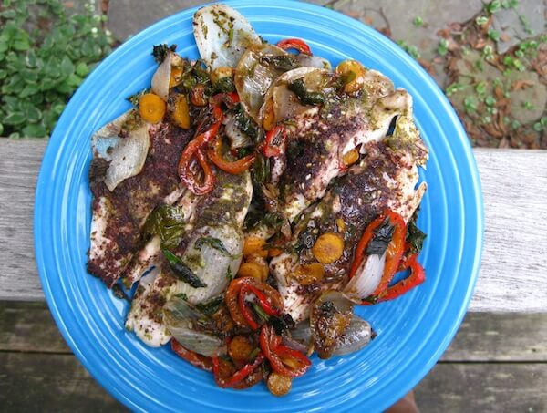 Moroccan White Fish Recipe