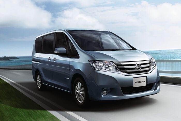 Nissan Serena S-HYBRID Debuts in Japan