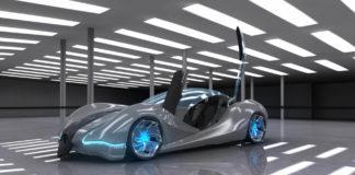 Fuel efficient concept car by Mercedes