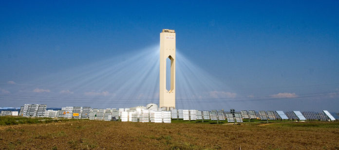 Solar energy tower