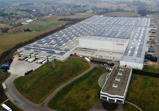 Toyota Solar Installation