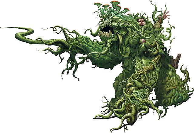 vegetarian monster