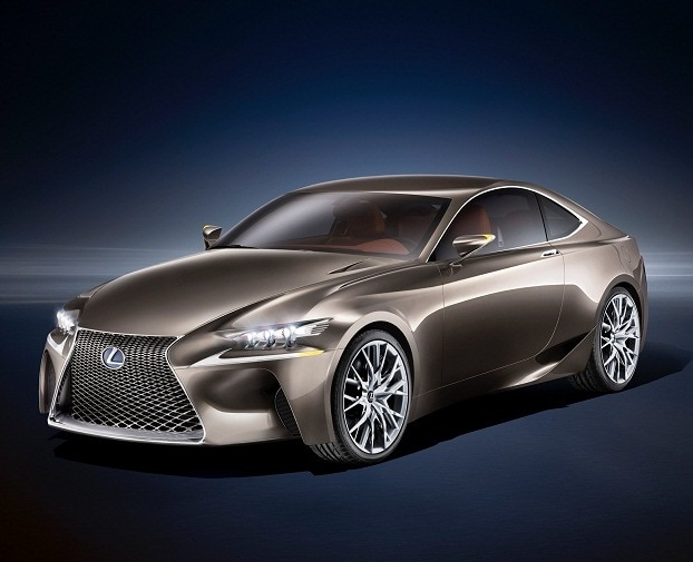 Lexus unveils luxury hybrid coupe concept, LF-CC
