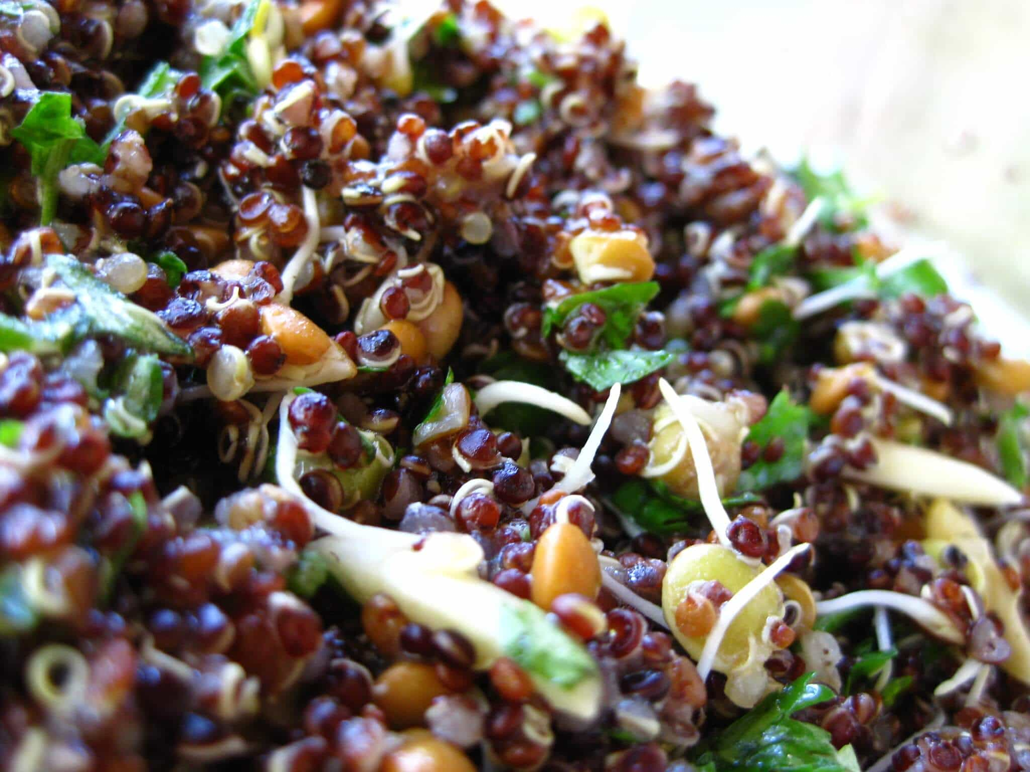 Lime Summer Quinoa Salad Recipe