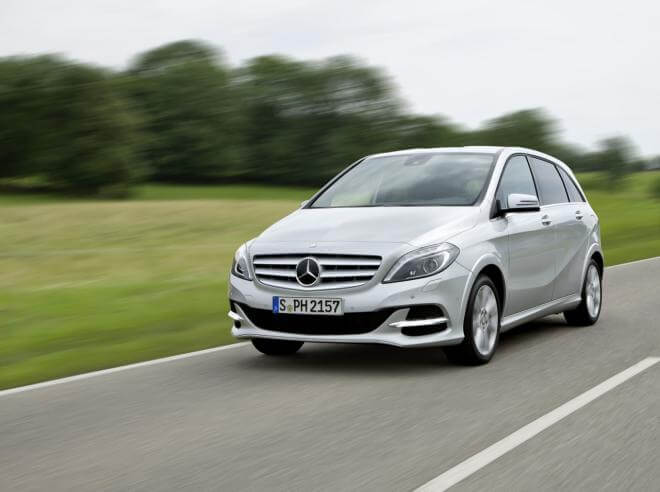 Mercedes-Benz B200 Natural Gas Drive Heading for the Paris Motor Show