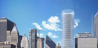 Chicago solar tower