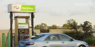 Compressed natural gas car