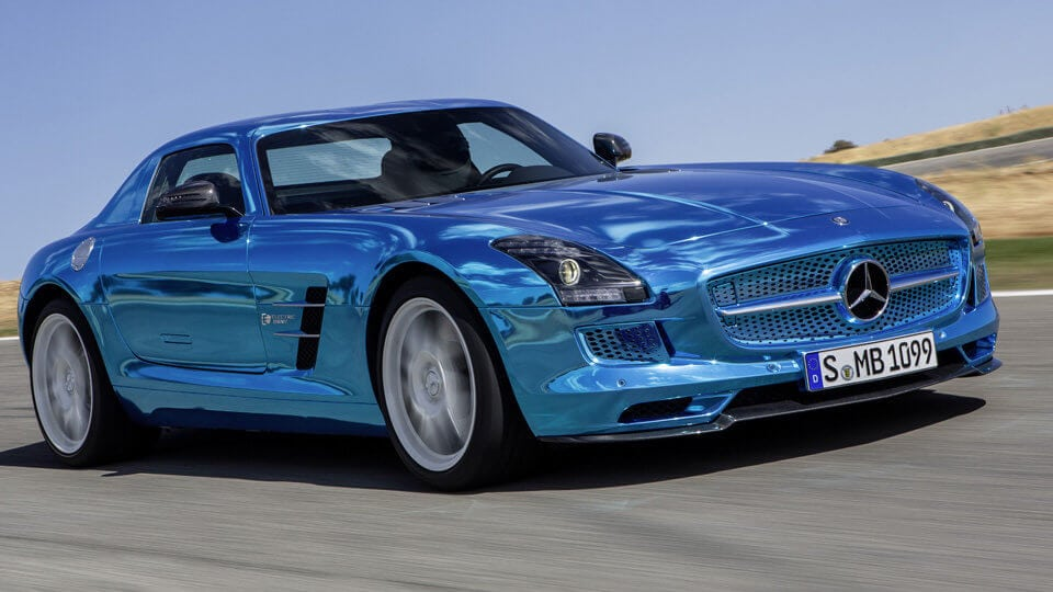 Mercedes unveils the SLS AMG Electric Drive