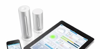 Netatmo personal urban weather station