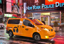 New York City Nissan Yellow Taxi Cab
