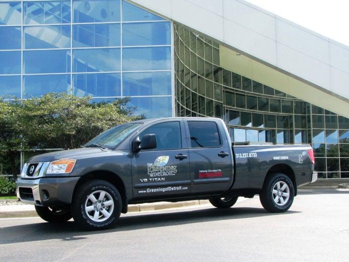 Nissan Titan for Greening of Detroit