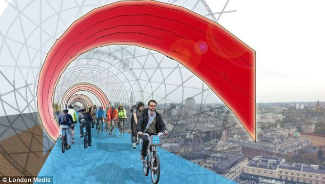 Cycling above traffic: How elevated bike lanes could save modern cities