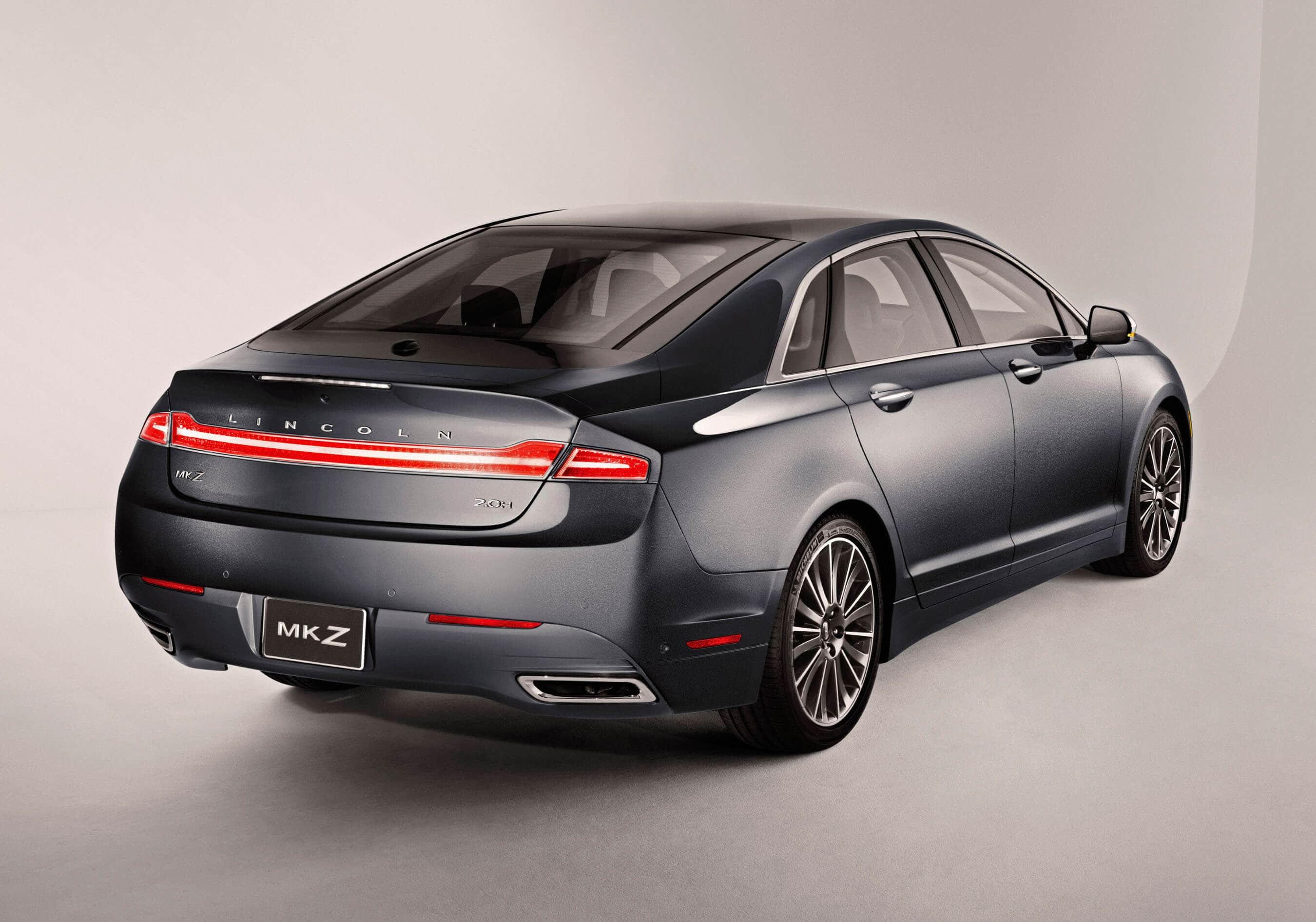 Most Fuel Efficient Luxury Hybrid Car Lincoln Mkz Hybrid Greener Ideal