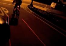 bike lane laser