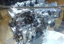 Clean diesel engine