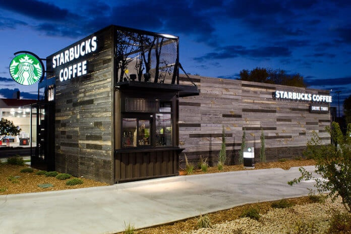 Starbucks eco store