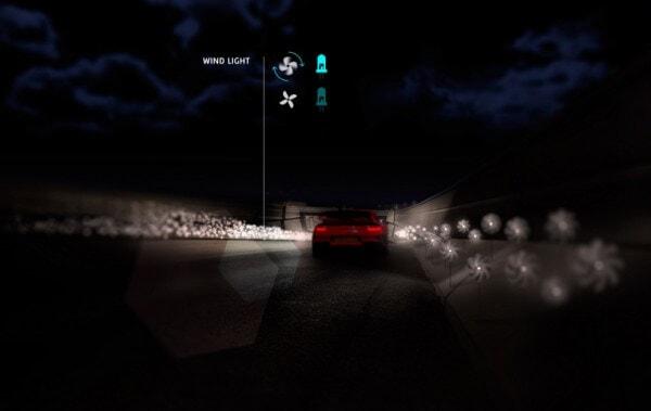 Wind Light on a Smart Highway