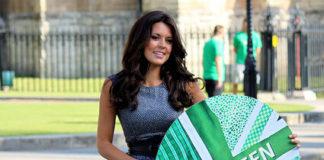 Danielle Lineker Team Green Celebrity Ambassador