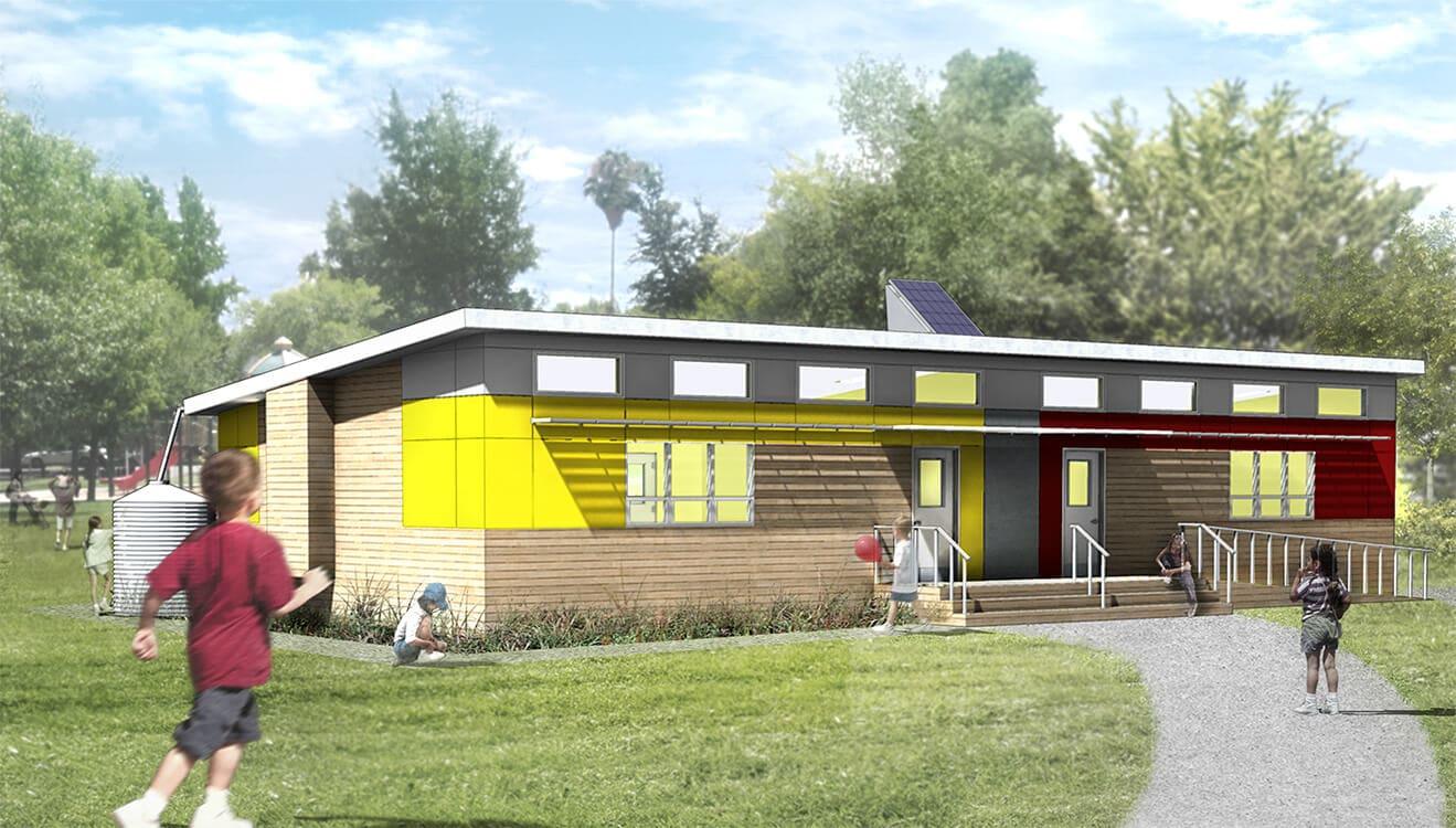 Modular Green Classroom : Sage affordable green modular classrooms greener ideal