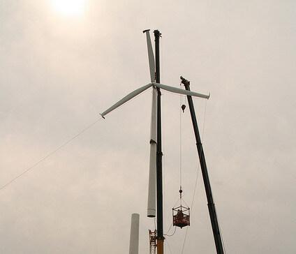 Wind Turbine Building