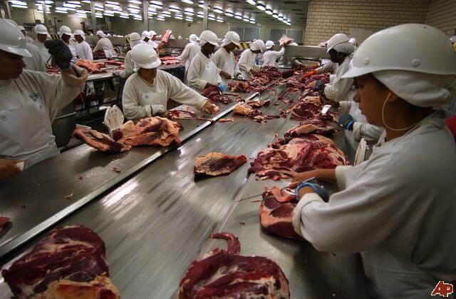 JBS SA meat packing