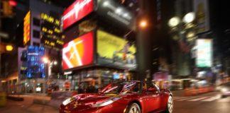 Tesla Motors electric car