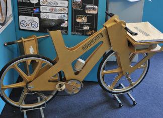 Cardboard bike