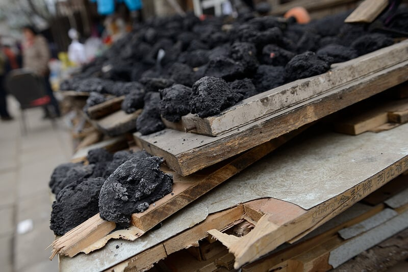 China burns as much coal as the rest of the world combined, data shows