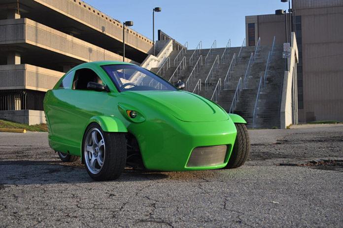 Elio Motors 3 wheeler