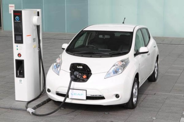 2013 Nissan Leaf electric car