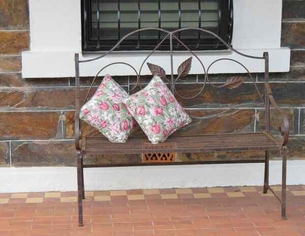 Curtain cushions