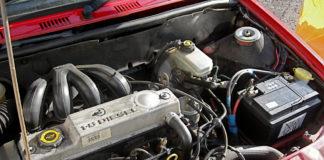 Diesel car engine