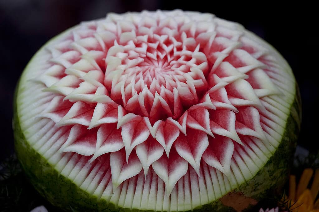 Extreme Fruit And Veggie Carving