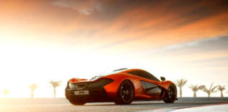 McLaren P1 Concept plug-in hybrid