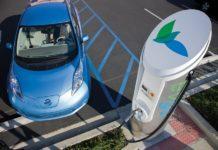 Nissan quick charge eVgo Leaf