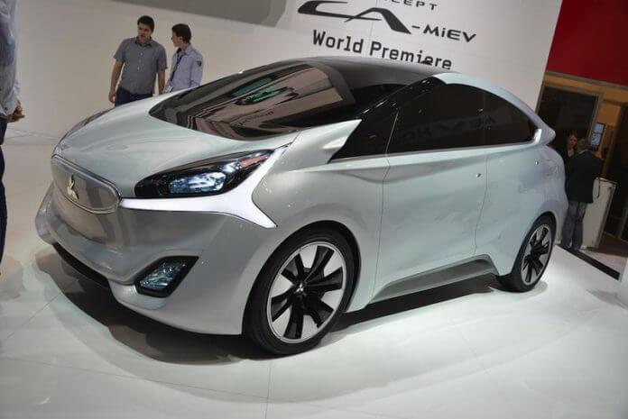 Mitsubishi Electric Car >> Mitsubishi Promotes Hybrid Electric Vehicle Concepts In