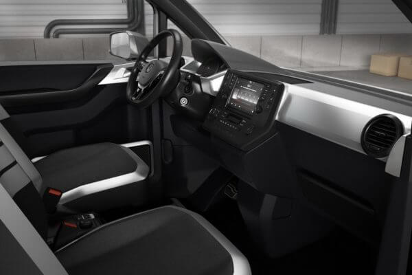 Volkswagen e-Co Motion Concept Van Interior