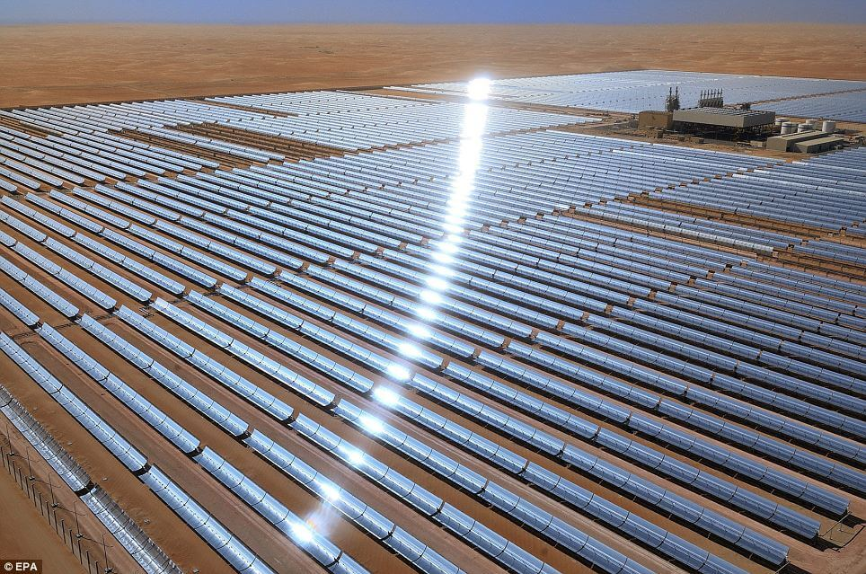 World's largest solar power plant opens with 100MW capacity