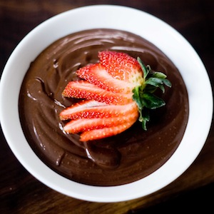 Tofu Chocolate Pudding Recipe