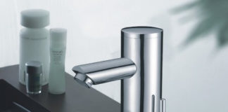 hands free automatic faucet