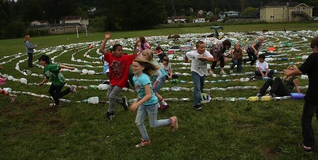 kids recycling fun