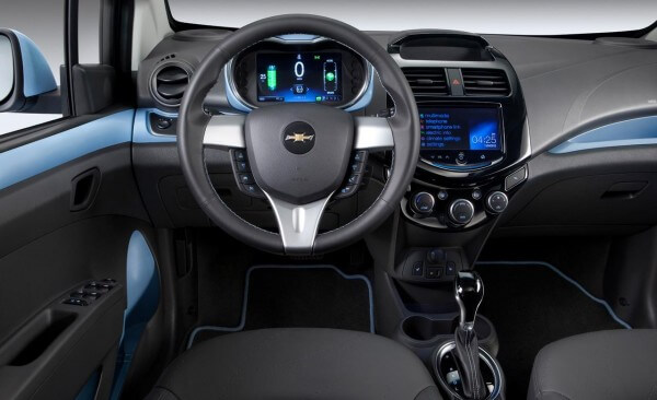 2014 Chevy Spark EV Interior